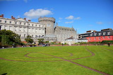The Dubhlinn Garden, Dublin Castle,Ireland