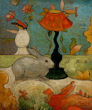 Bunny rabbit Mark Briscoe