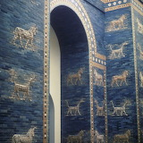 Ishtar Gate of the ancient city of Babylon
