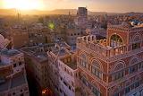 Sana'a Yemen sunset