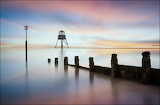 Dovercourt Lighthouse, Harwich by Jeanny Mueller