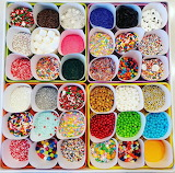 Containers of Candy Sprinkles
