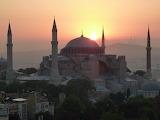Sunrise Aya Sophia Turkey