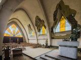 Collapsing roof Mineurs Chapel Belgium