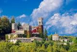 Castle of celsa-tuscany