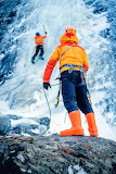 ice mountain climming