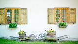 German Hauswand: Outside Wall