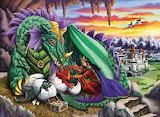 The queen dragon
