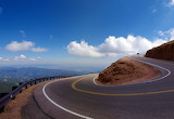 Pikes Peak Highway Colorado Springs USA credit Mike Goad