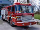 Fire Truck, Wards Island, Toronto