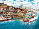 Fishing Harbor - Ken Zylla