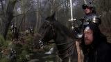 Nicol Williamson and Gabriel Byrne in Excalibur