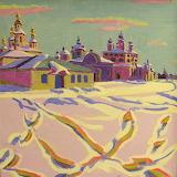 Георгий Калинин «Морозный день в Великом Устюге»