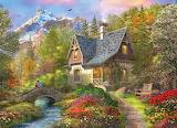 Cottage amongst the mountains - Dominic Davison