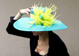 Hat, French horse race,  2014