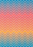 Hue Shift Chevron Pattern