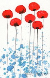 Tall Poppies painting