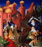 for mariejeanne the eighth crusade middle age painting