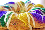 ^ Mardi Gras King Cake
