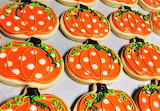 #Pumpkin Sugar Cookies