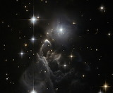"Space tumblr nasa-daily ""Hubble's Lucky Observation of an Enigma"