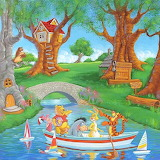Boat Ride in the Hundred Acre Woods