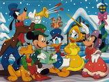 Disney Carolers~
