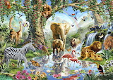 22-223301 3d-images-of-baby-jungle-animals-wallpaper-wild