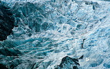 Hikers on Franz Josef Glacier. New Zealand