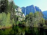 Merced River, Yosemite Falls...