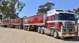 Australian Kenworth K200 Road Train