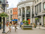 Rodeo drive shops, stores