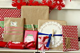 ^ Christmas Handmade Wrapped Presents