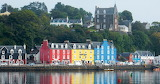 Tobermory Mull Scotland harbour