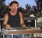 Gilligan playing pedal steel