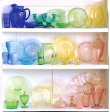 ^ Depression Glass