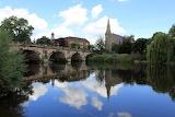 English Bridge over the River Severn, Shrewsbury