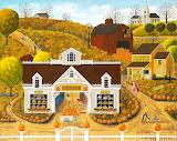 Pumpkin House - Art Poulin