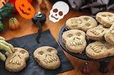 Biscotti per la festa di Halloween.