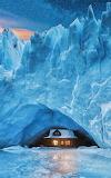 Cabins - In a Glacier