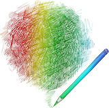 ^ Scribble lines