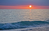 Crystal-blue-waters-at-sunset-in-treasure-island-florida-robin-l