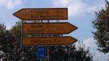 Butzbach and Friedburg, Germany signs