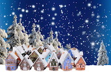 Christmas-background-houses-snow