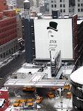 Nueva York estación de taxi