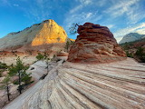 Checkerboard Mesa,Zion National Park, Utah,