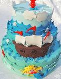 Sail away cake @ Zuccheri D'Artificio