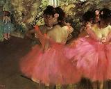 """Dancers in Pink"" Edgar Degas"