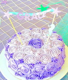 Grace's cake @ theselittleloves.com