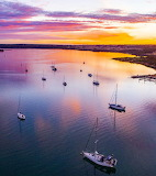 Sailing off Kangaroo Island Australia